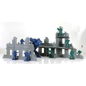 Руины Бронепехота строительный набор, 10 отливок, арт.00048