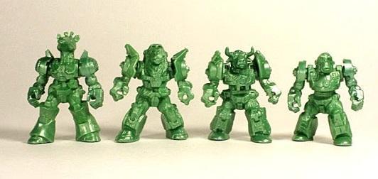 Африка отряд ЗвеРоботов, 4 коллекционные фигурки, цвет зелёный, Технолог