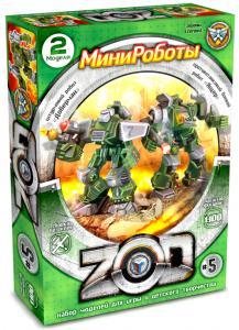 Ящер и Доберман Z.O.D №5 игровой конструктор минироботов, Технолог