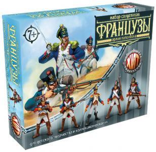 Французы Битвы Fantasy набор воинов, цвет металлик, Технолог