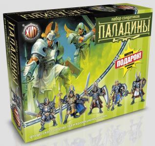 Паладины Битвы Fantasy набор воинов, цвет олива, серый, Технолог