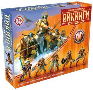 Викинги Битвы Fantasy набор воинов, цвет металлик, Технолог