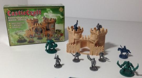 Мини-замок №2 (орки и испанцы) CastleCraft игровой игровой конструктор замков и крепостей, Технолог