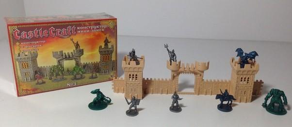 Мини-замок №3 (орки и гладиаторы) CastleCraft игровой игровой конструктор замков и крепостей, Технолог