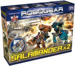 Саламандра (Salamander) Robogear игровой конструктор боевой техники, Технолог