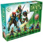 Пираты Битвы Fantasy набор воинов, цвет сиреневый, серый, синий, Технолог